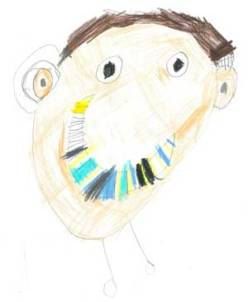 drawing-15-child-wearing-hearing-aid